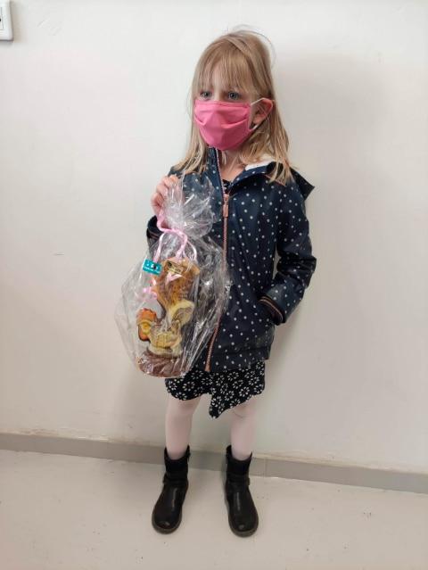 photo gagnant jeu concours Pâques
